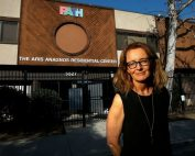 opening a homeless shelter in L.A.